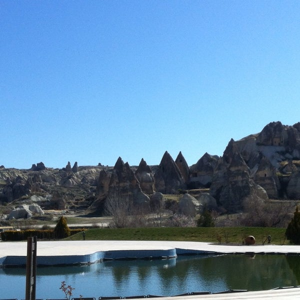 3/23/2014 tarihinde Alper A.ziyaretçi tarafından Tourist Hotels & Resorts Cappadocia'de çekilen fotoğraf