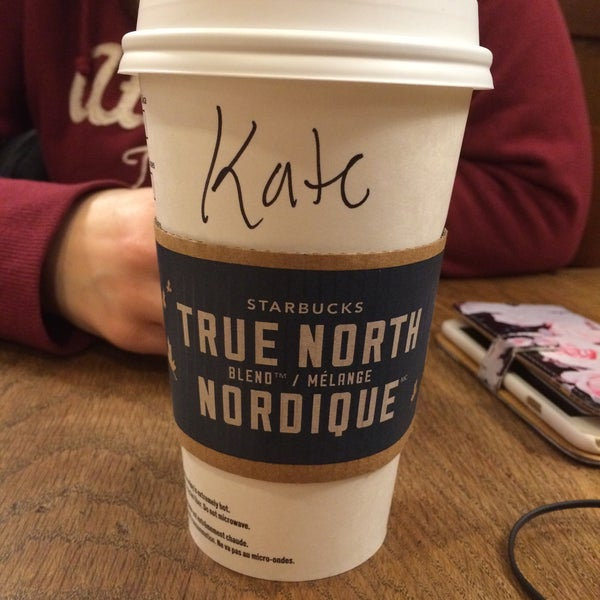 Photo taken at Starbucks by Katerina V. on 12/28/2015