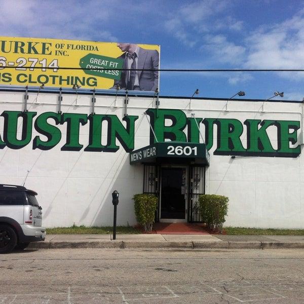 Burks clothing store
