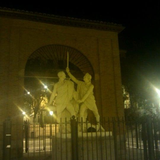 Photo taken at Plaza del Dos de Mayo by Adiba E. on 10/7/2012