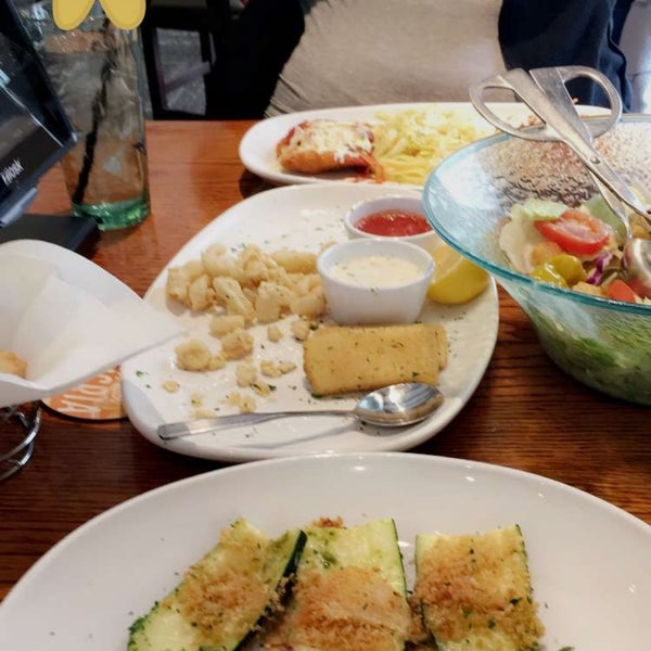 Photo Taken At Olive Garden By Julia M. On 3/21/2017