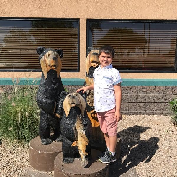 Photo taken at Gilbert Black Bear Diner by Lauren L. on 3/18/2017