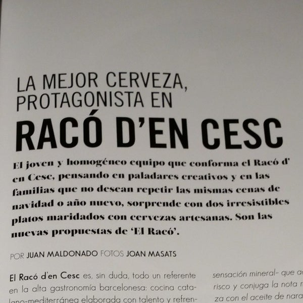Photo taken at Racó d'en Cesc by Edgar R. on 11/27/2014