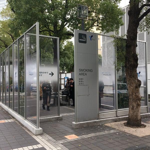 横浜駅東口喫煙所