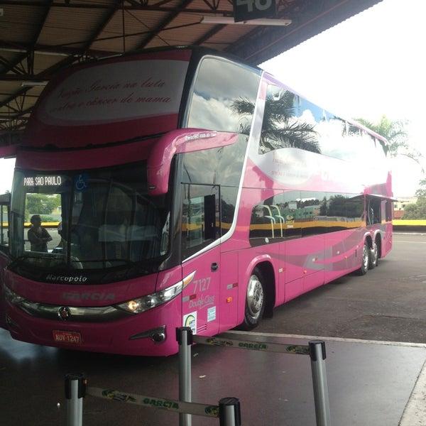 Photo taken at Terminal Rodoviário José Garcia Villar by João Paulo N. on 12/25/2012