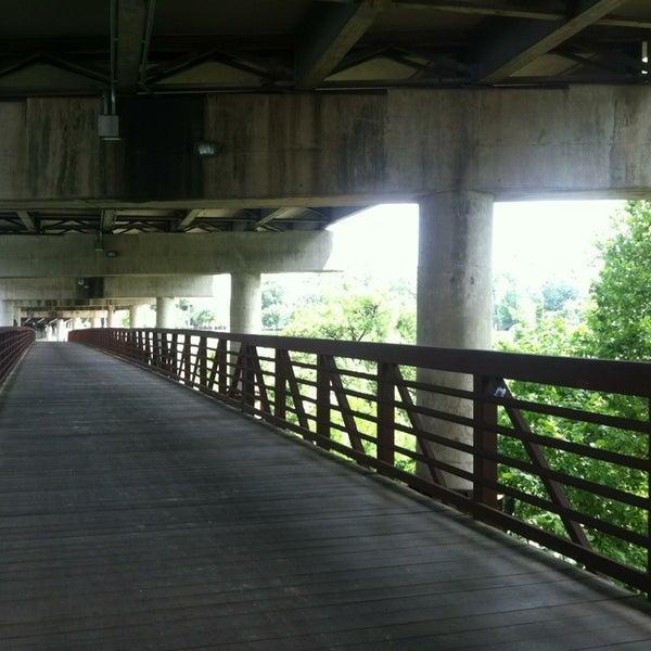 Photo taken at Memorial/Allen Parkway Trails by iDork g. on 7/28/2013