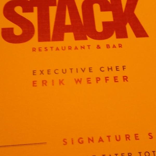 Photo taken at STACK Restaurant & Bar by Raúl Alejandro R. on 8/21/2016