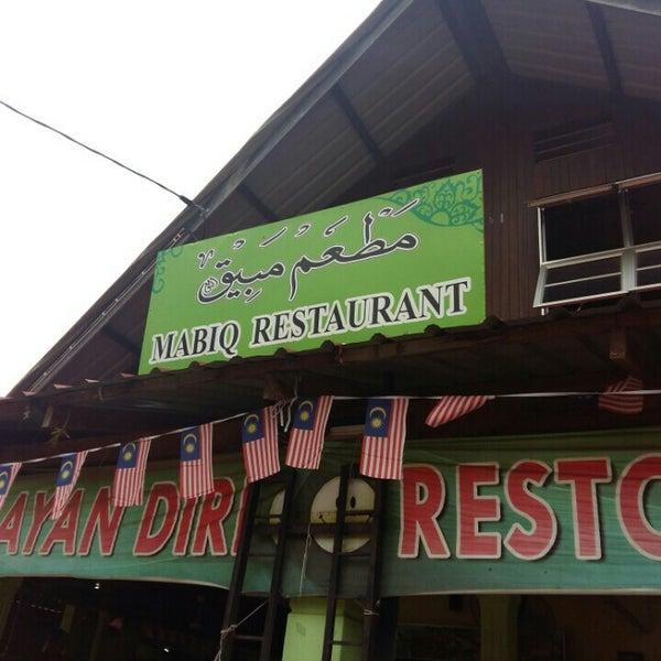 Photo taken at MABIQ Restaurant by Nurul A. on 10/22/2016