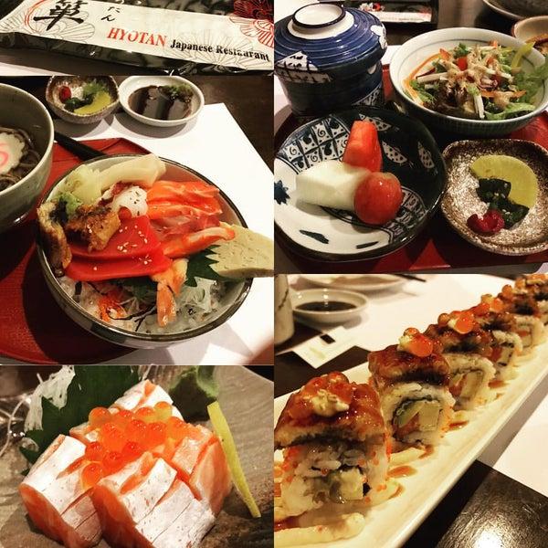 Photo taken at Hyotan Japanese Restaurant by William Lye Wei Wern on 12/2/2016