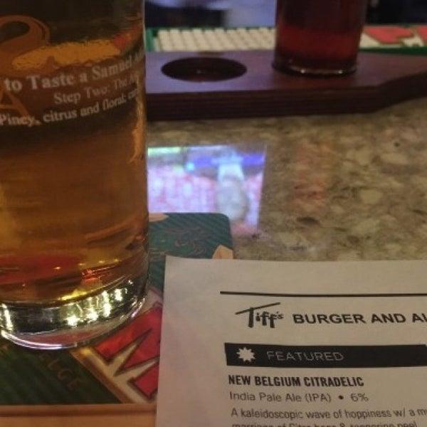 Photo taken at Tiff's Burger & Alehouse by David on 5/6/2016
