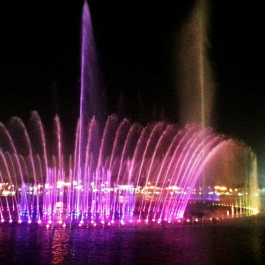 Photo taken at King Abdullah Park by Zoi F. on 10/30/2013