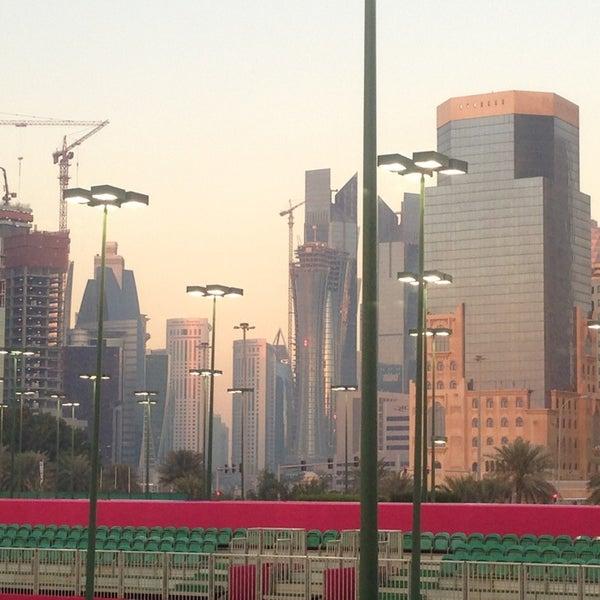 Photo taken at Qatar Tennis Federation by Nin's Travelog on 2/16/2013