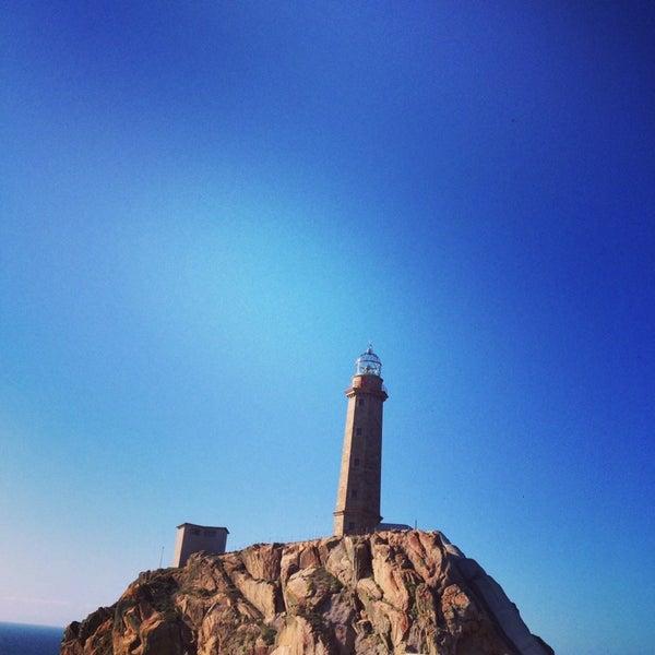 Photo taken at Faro de Cabo Vilán by Eduardo L. on 8/24/2014