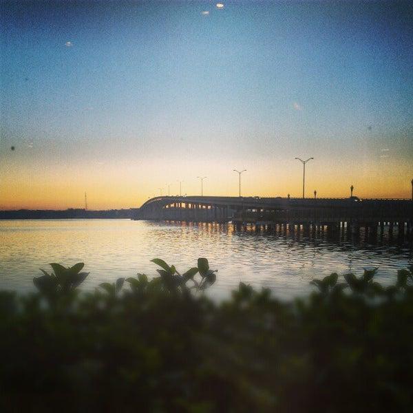 Photo taken at Palatka Riverfront by Veronica L. on 1/17/2013
