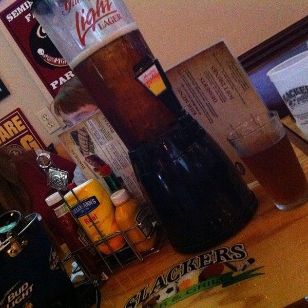 Photo taken at Slackers Bar & Grill by Mickala B. on 9/28/2013