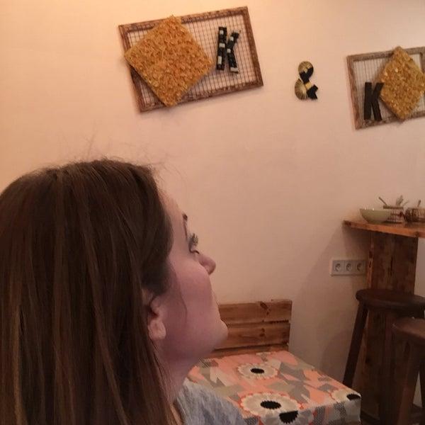 Das Foto wurde bei Клава та Кава. Коворкінг von Татьяна Я. am 1/11/2018 aufgenommen