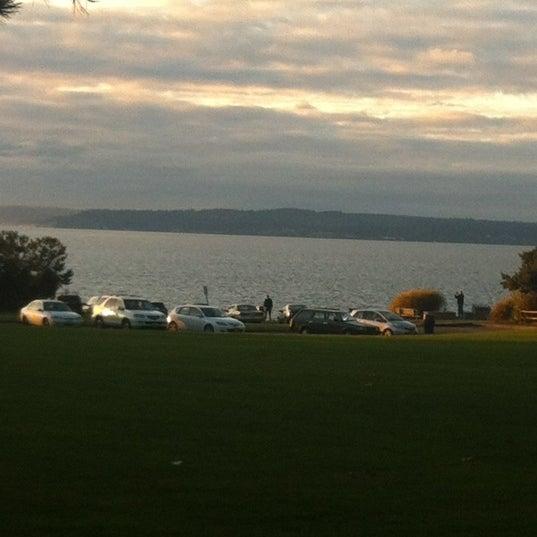 Photo taken at Carkeek Park by Kerina on 11/15/2012