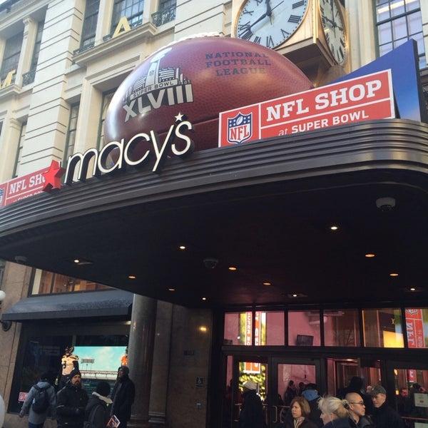 NFL Super Bowl Shop At Macys (Now Closed)