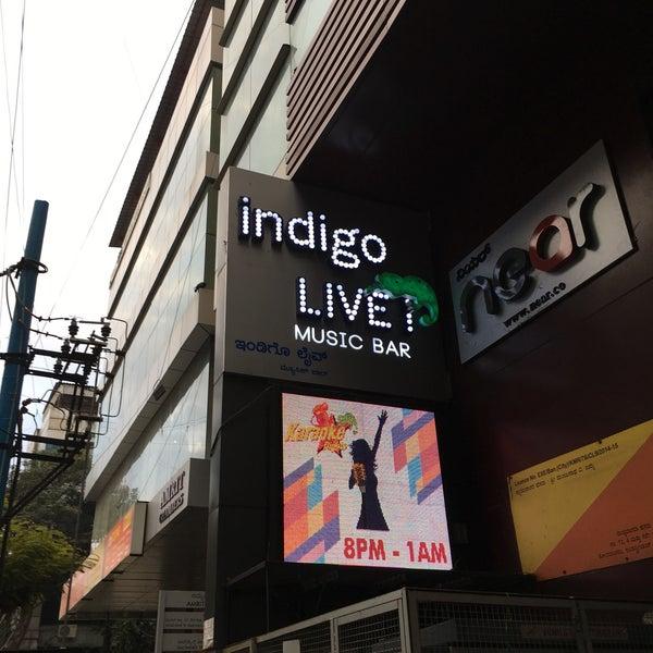 Photo taken at Indigo Live - Music Bar by Eliyas M. on 12/14/2016