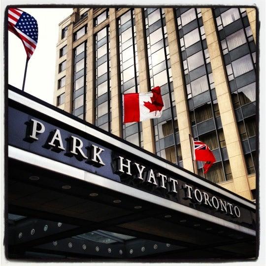 Photo taken at Park Hyatt Toronto by Kelly S. on 10/5/2012