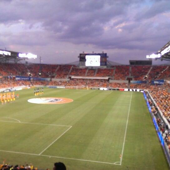 Photo prise au BBVA Compass Stadium par Yodani Q. le7/28/2013