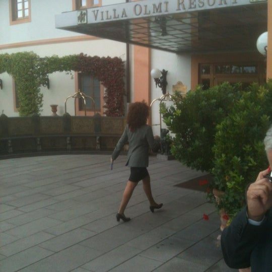 Photo taken at Villa Olmi Firenze by Robi V. on 10/9/2012