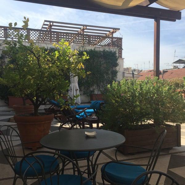 Das Foto wurde bei Hotel Dei Mellini von Louise W. am 10/17/2016 aufgenommen