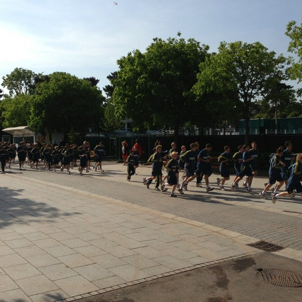 Photo taken at Stade Roland Garros by Sergey S. on 6/4/2013