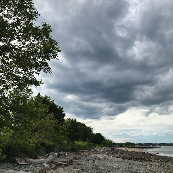 Photo taken at East End Beach by Greg S. on 6/22/2017