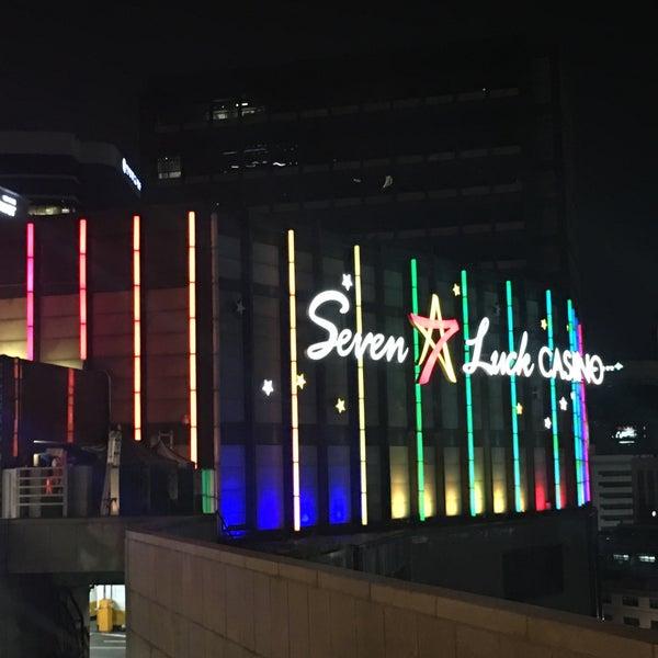 Photo taken at Seven Luck Casino by Yukitaka N. on 7/9/2016