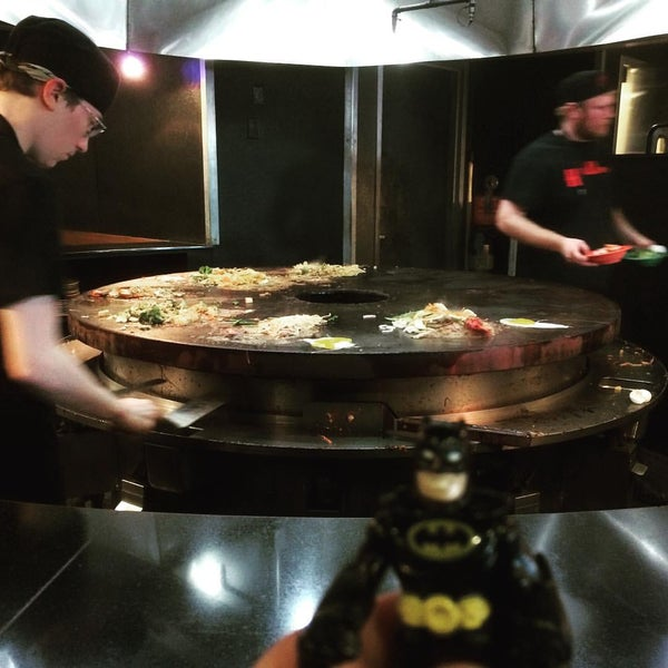 Photo taken at HuHot Mongolian Grill by James-Michael G. on 10/19/2015