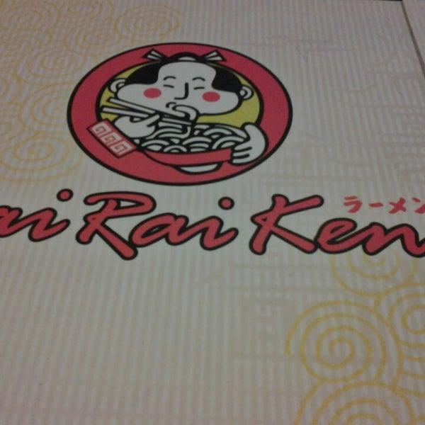 Foto tomada en Rai Rai Ken por Kate Joyce N. el 5/9/2013