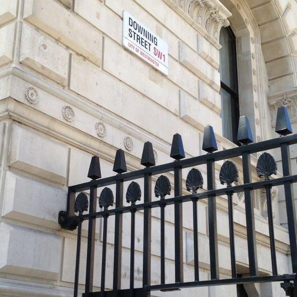Photo taken at 10 Downing Street by Benjamin O. on 6/3/2013
