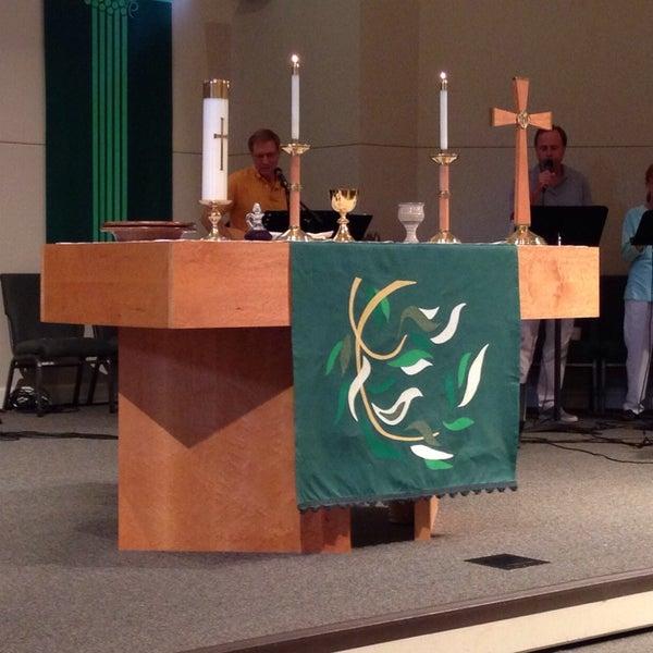 Photo taken at Spirit of Joy! Lutheran Church by Josh H. on 6/29/2014
