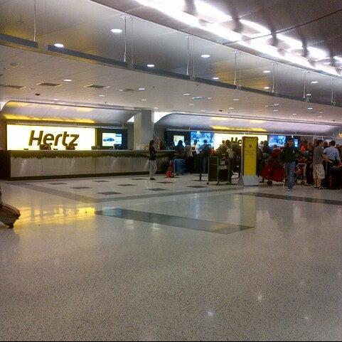 Miami Airport Hertz Rental Car Return