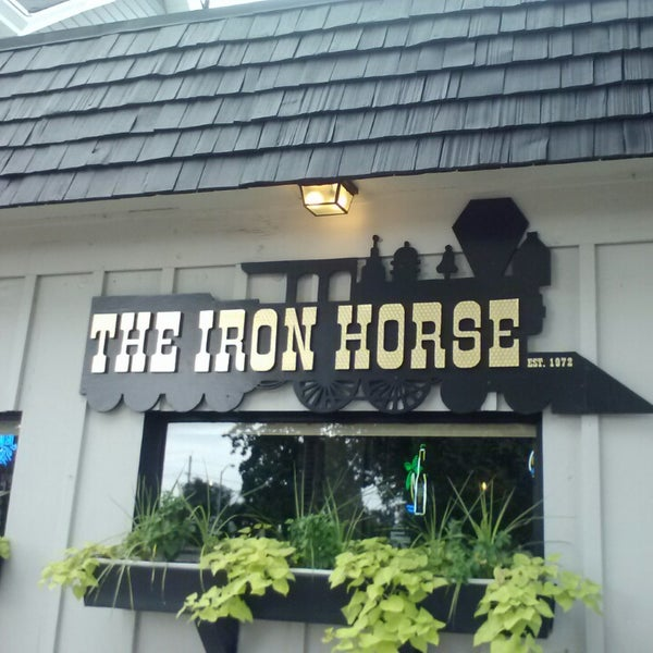 Photo taken at The Iron Horse by Chris C. on 8/11/2013