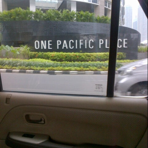 Photo taken at Pacific Place by Suchi Widya N. on 2/25/2013