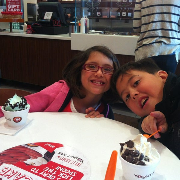 Photo taken at Yogurt Mill by carrie m. on 2/8/2013