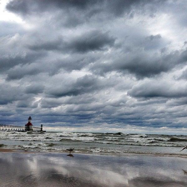 Photo taken at Silver Beach by Daniel M. on 7/28/2013