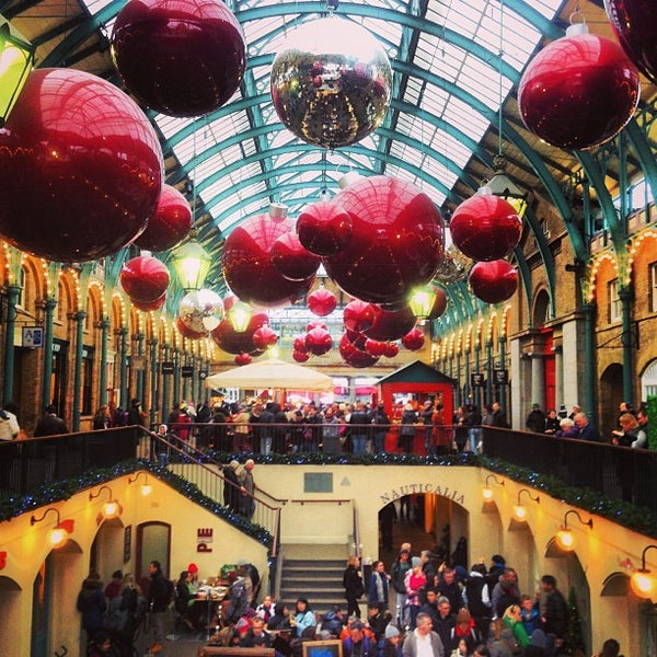 Photo taken at Covent Garden Market by Joel G. on 1/2/2013