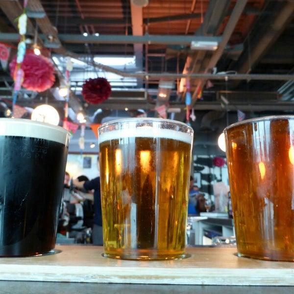 Photo taken at The Tin Goose (Pub & Kitchen) by Peter J. on 8/14/2014