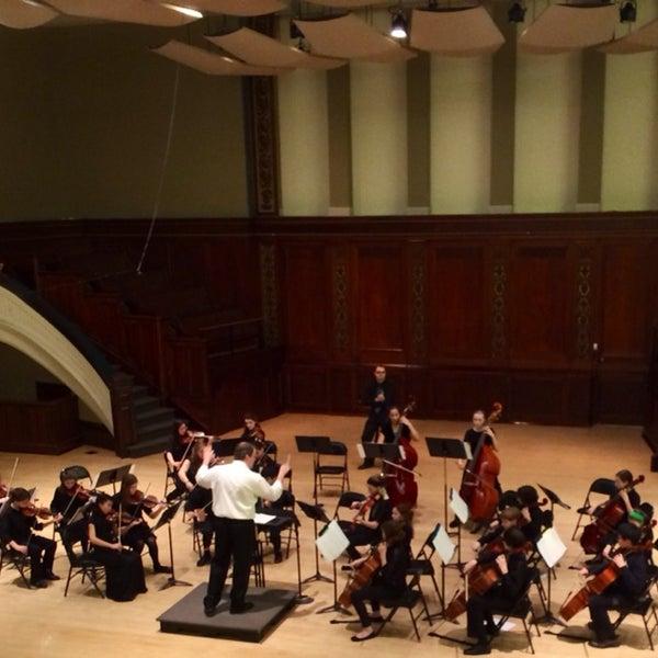 Photo taken at Hochstein School of Music & Dance by Nancy G. on 3/9/2014