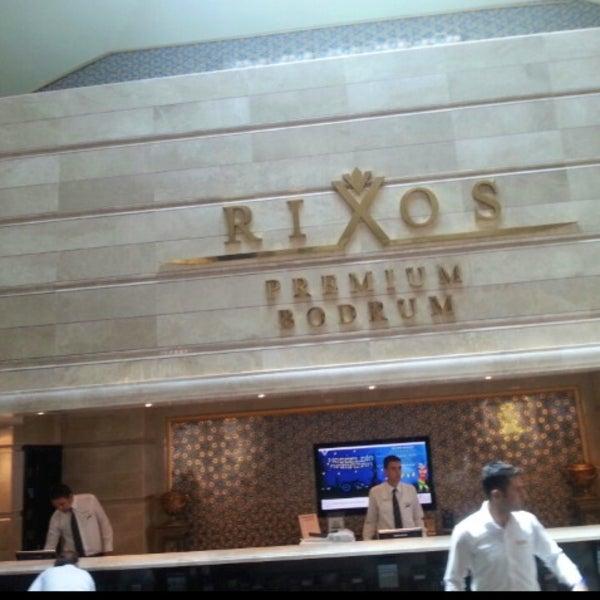 8/15/2013 tarihinde ✈✈ Mhmtali. ✈✈ziyaretçi tarafından Rixos Premium Bodrum'de çekilen fotoğraf