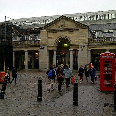 Photo taken at Covent Garden Market by BigDaddy on 4/11/2013