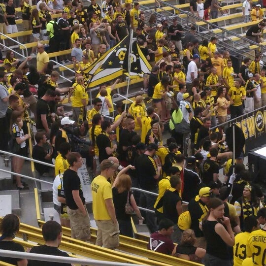 Photo taken at MAPFRE Stadium by Kelly A. on 6/15/2013