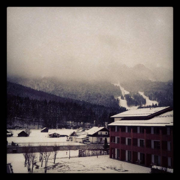 Photo taken at Edelweiss Lodge and Resort by Rachael M. on 2/4/2013