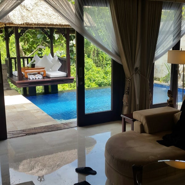 Photo taken at Viceroy Bali by Alexey I. on 2/7/2015