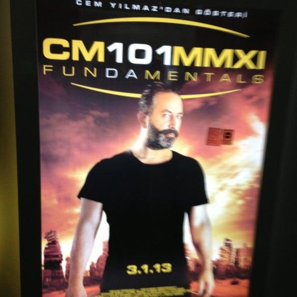Photo taken at Cinemaximum by Tutku B. on 1/11/2013