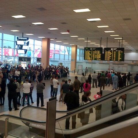 Photo taken at Jorge Chávez International Airport (LIM) by Marysabel H. on 6/14/2013