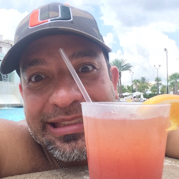 Photo taken at Marriott World Center Pool by Jimmy P. on 8/9/2015